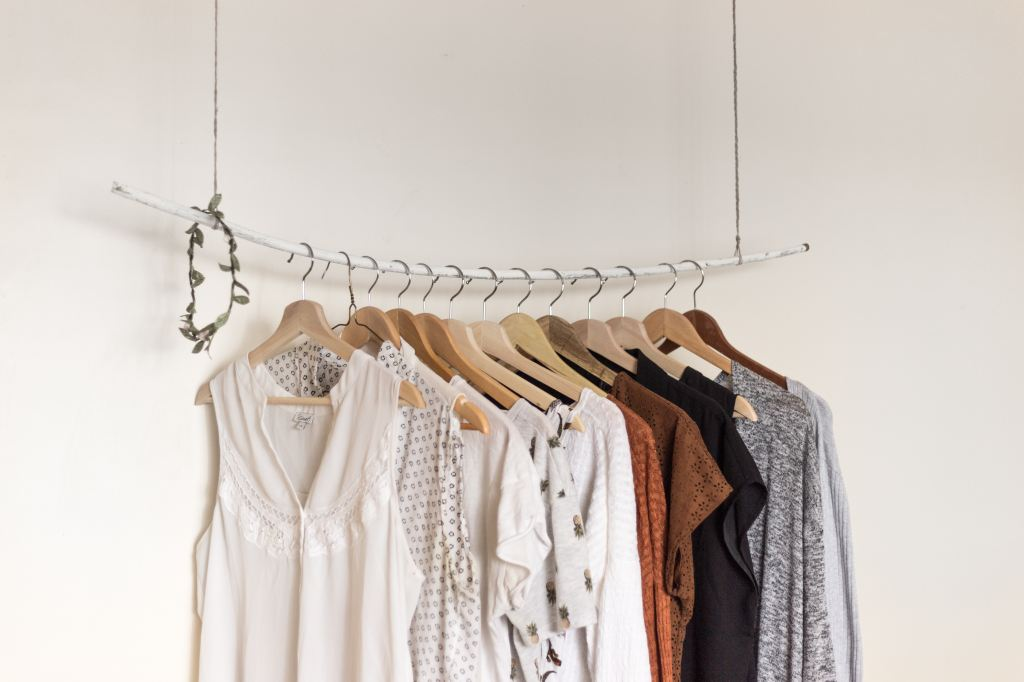 Cotton Shirts on hangers