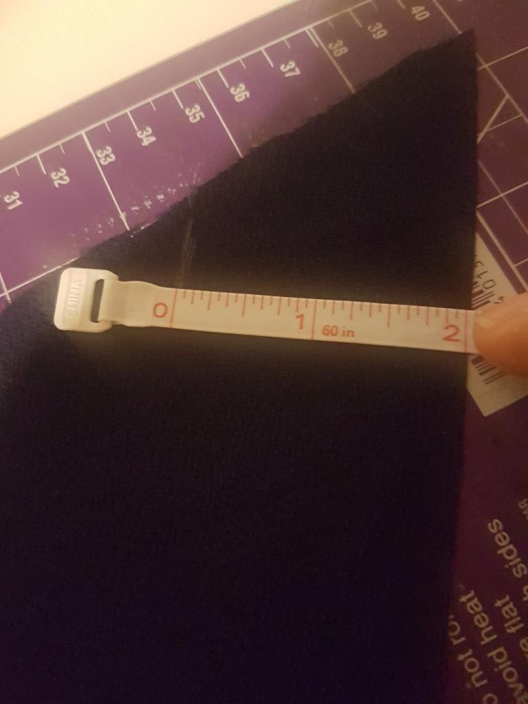 measuring bias strip